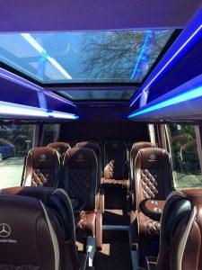 photo of minibus hire in leeds