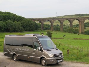 photo of coach and minibus hire Manchester